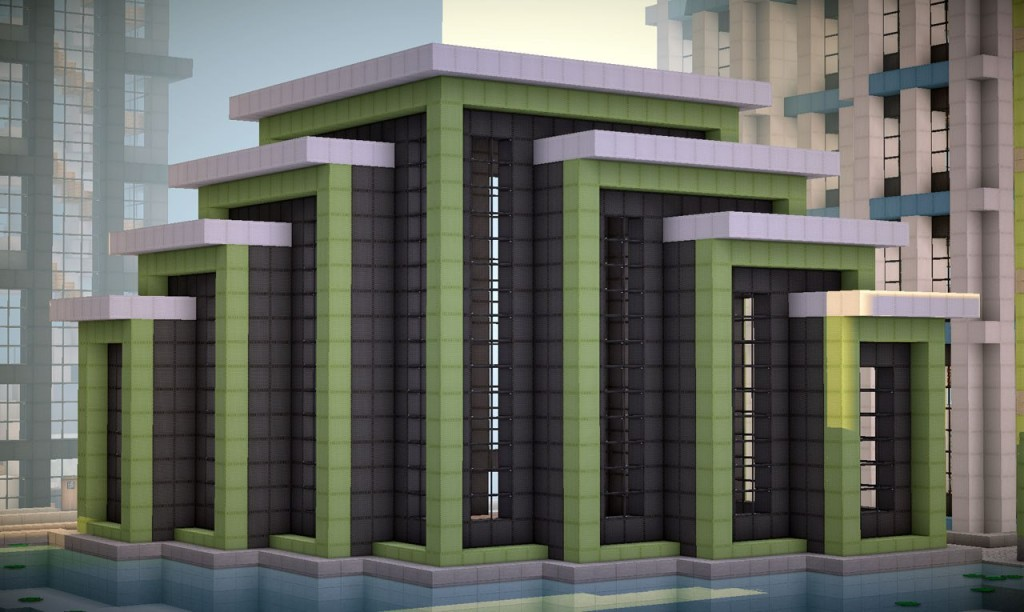 2. RaptorAnka - ModernBuilding on the World of Keralis (Minecraft)
