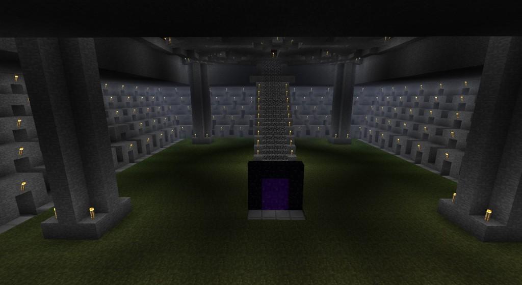 1. Greenie - алмазный рудник (Minecraft)